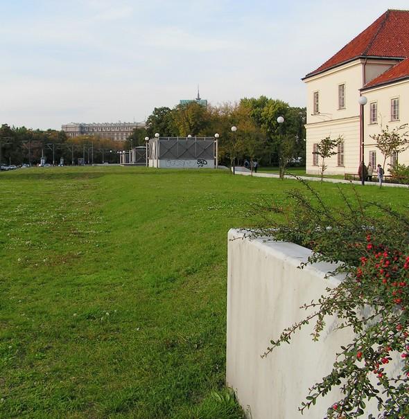obrzeża Parku Krasińskich